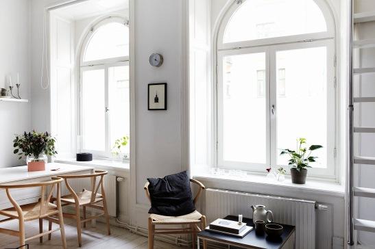 Fönster fåtölj