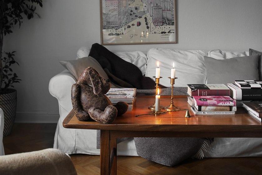 Soffa vardagsrum ljus