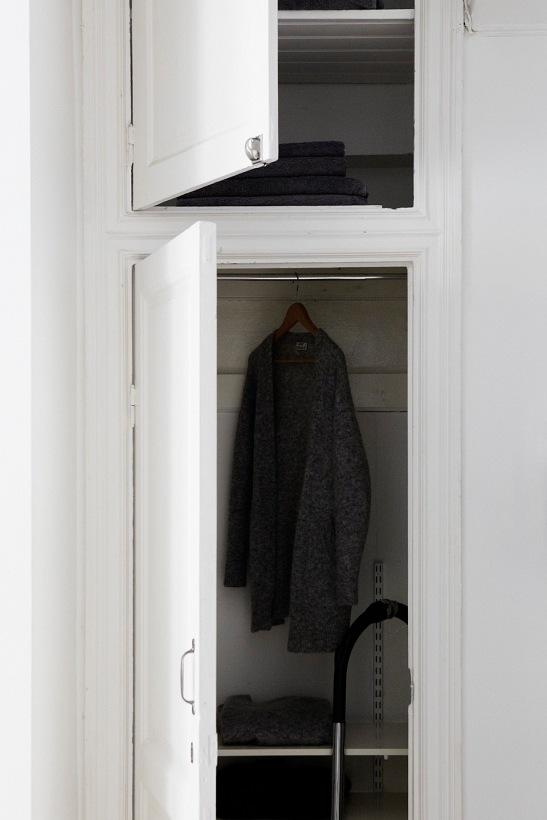 Hall kläder garderob