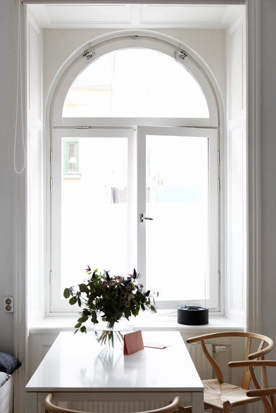 Fönster köksbord