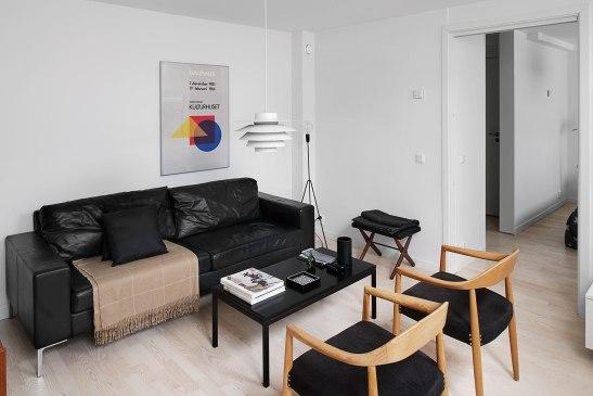Soffmöbler vardagsrum tavla