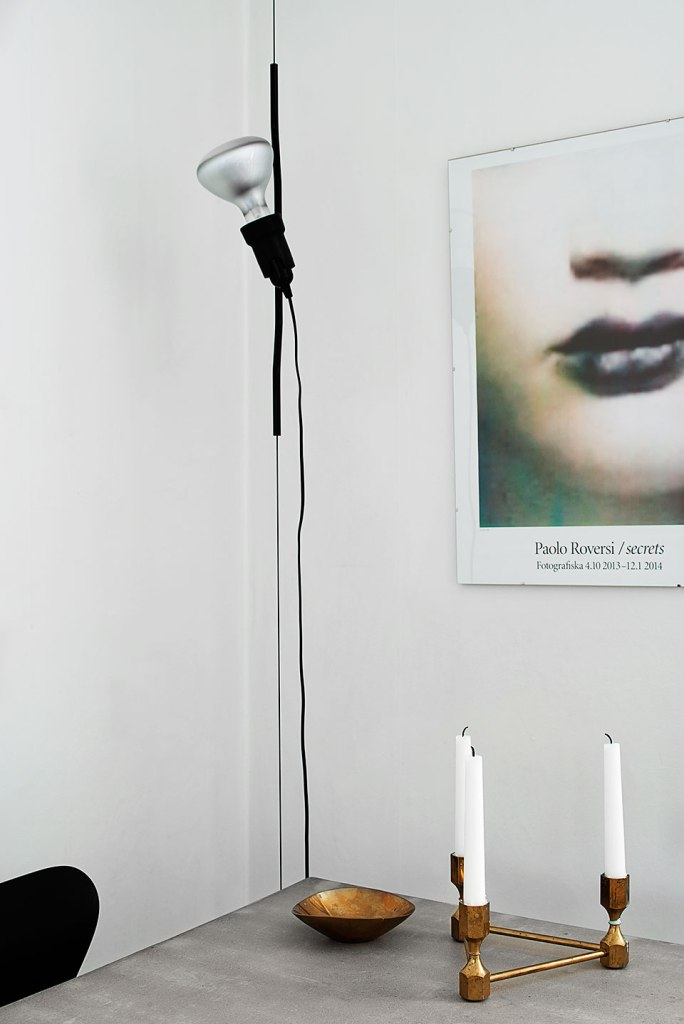 lampa Paolo Roversi affisch ljus