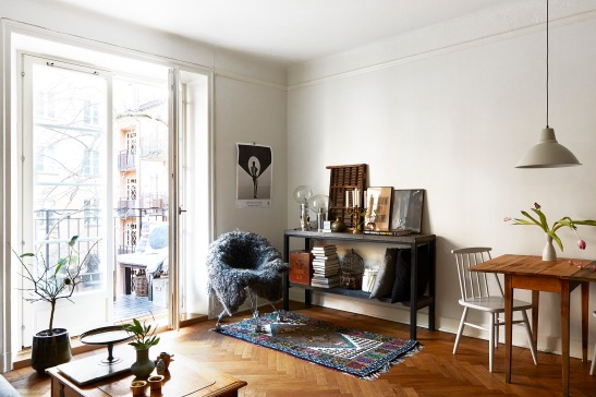 Vardagsrum sideboard fåtölj vardagsrum
