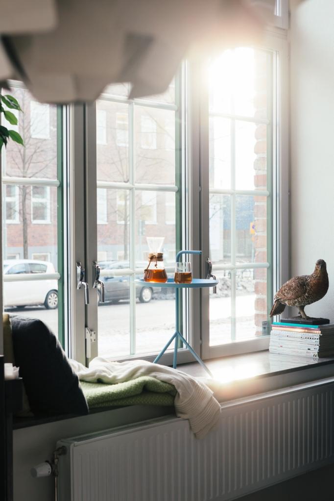 Fönster sideboard fönsterbräda Midsommarkransen