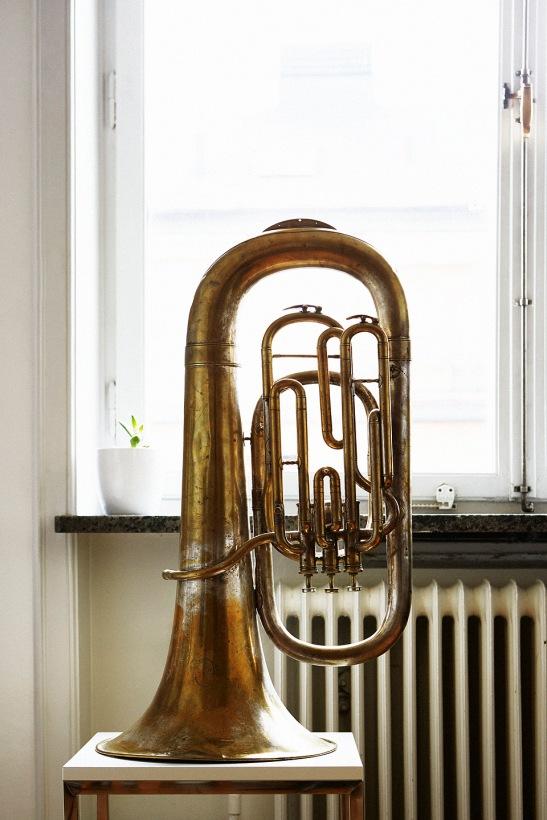 Trumpet fönster