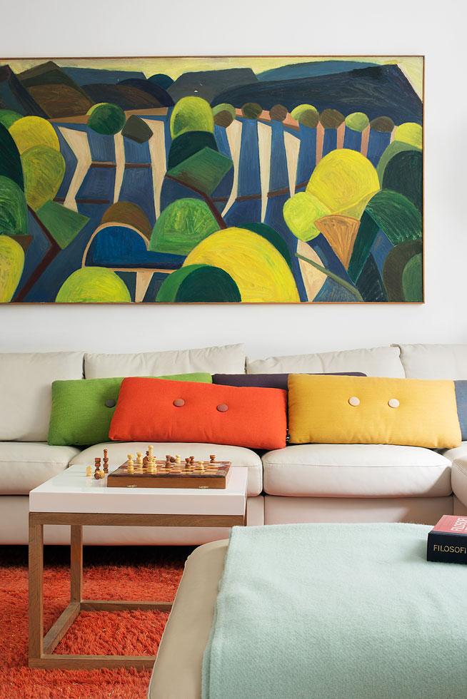 Soffa blommor färger