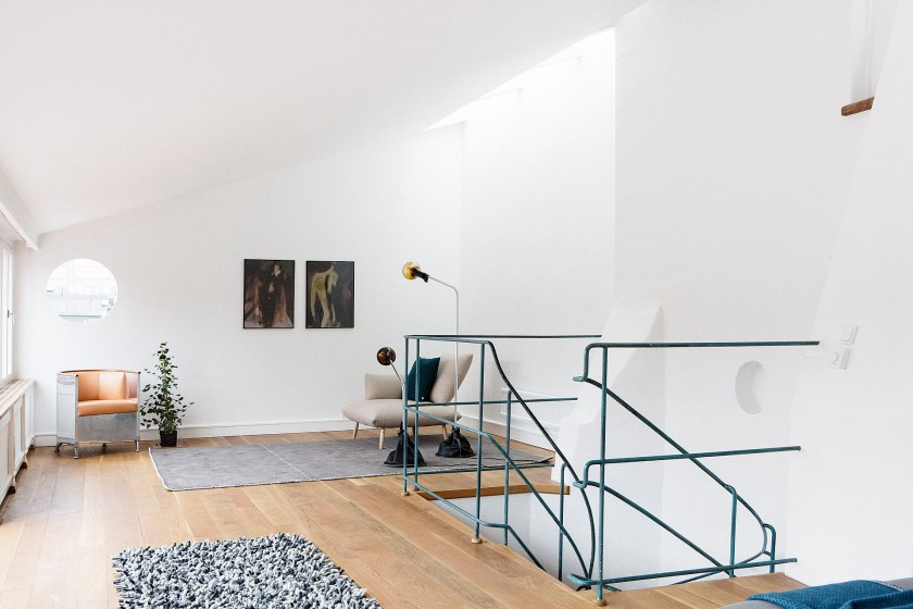 A fåtölj Källemo Habitat lampa Ready-Made Konst Arrivals matta