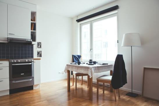 Kök matbord fönster