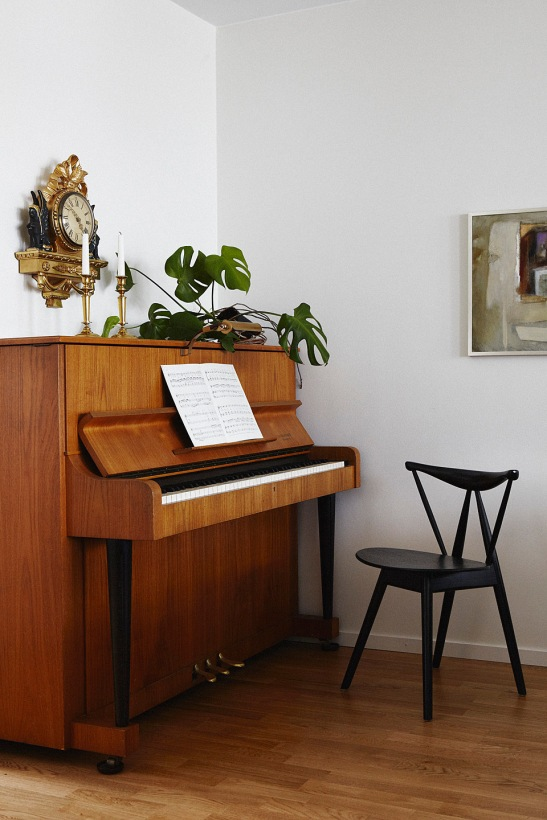 piano växter konst