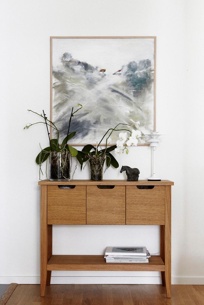 Konst byrå växter