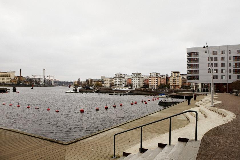Utsikt Hammarby Sjöstad