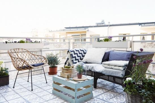 fritt terrass utemöbler utsikt