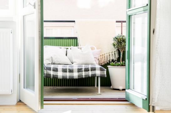 grönt skönt balkong söder