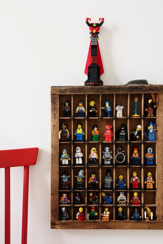 Lego skåp stol