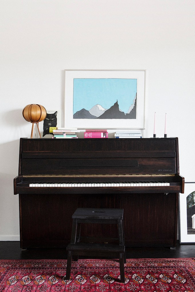 Piano matta konst