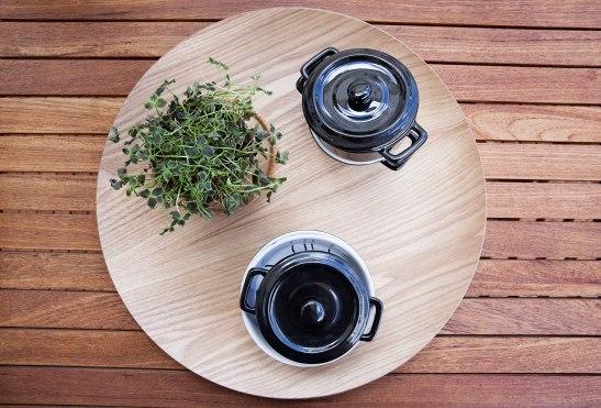 Hammarby sjöstad balkong trädäck servering pot
