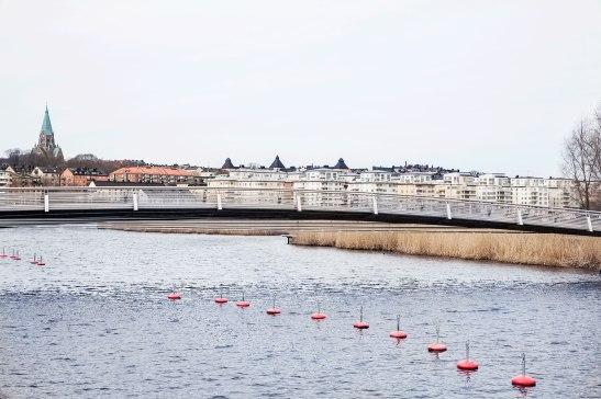 Hammarby sjöstad båtplats båt sjönära