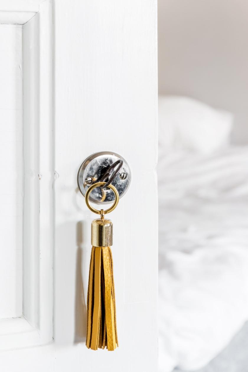 Södermalm sovrum nyckel med tassel