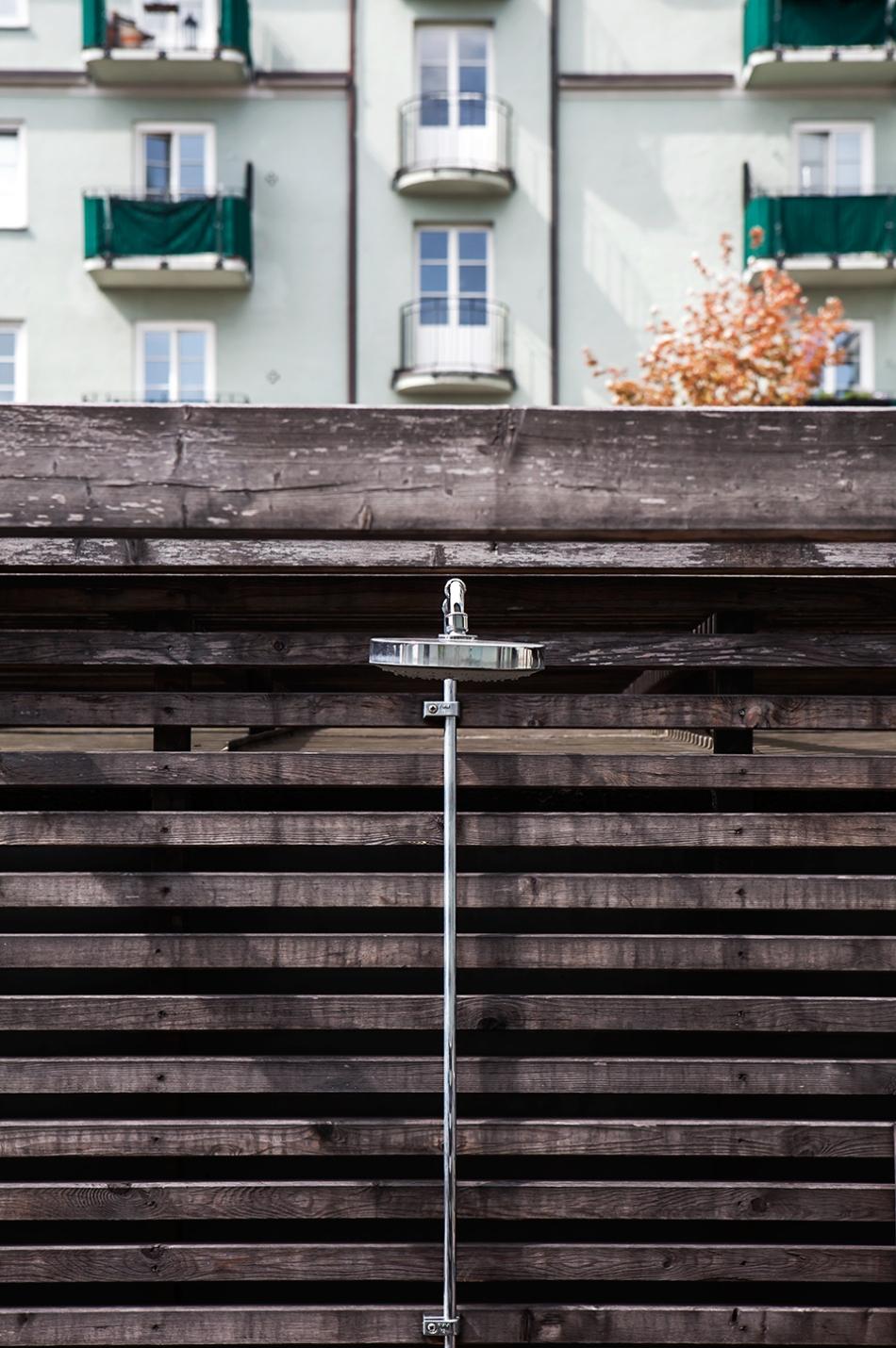 Kungsholmen gård utedusch