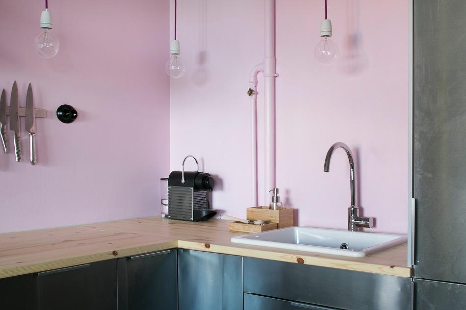 Lundagatan 36 d stockholm kitchen pink knifes coffee metal redwood fantastic frank