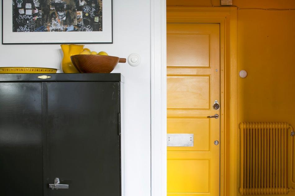 Lundagatan 36 d stockholm yellow hallway lemons arkivskåp fantastic frank