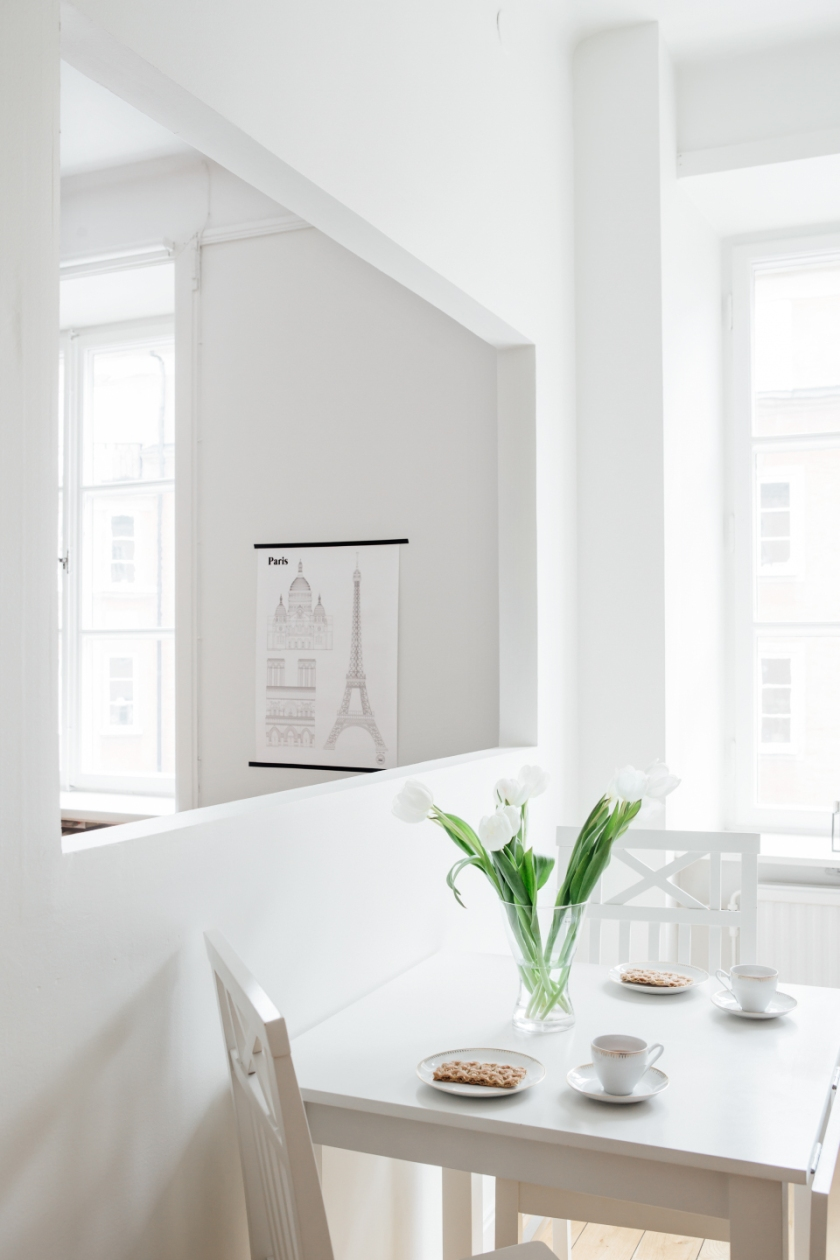 Odenplan kök mat öppet vardagsrum