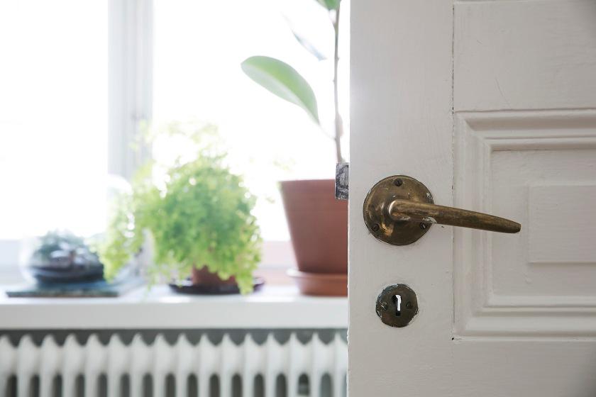 Vasastan dörrfodder originaldörr