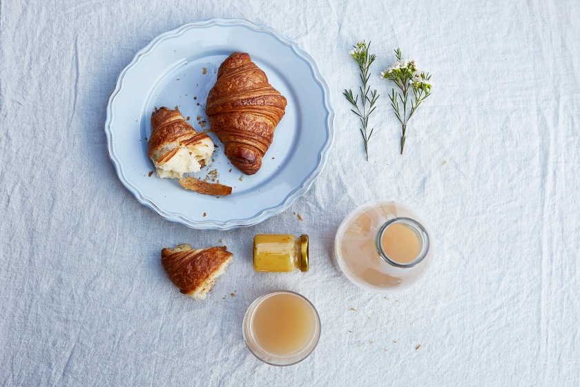 Vasastan frukost to die for croissant färskpressad juice