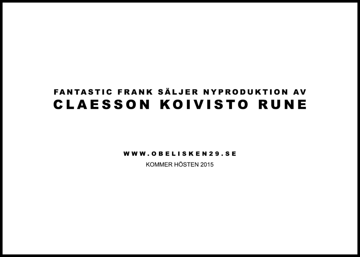 Fantastic Frank is selling new development by Claesson Koivisto Rune