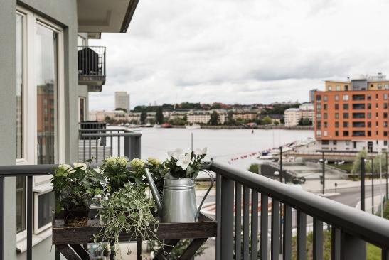 fartygsgatan hammarby sjöstad rosor grönt balkong fantastic frank