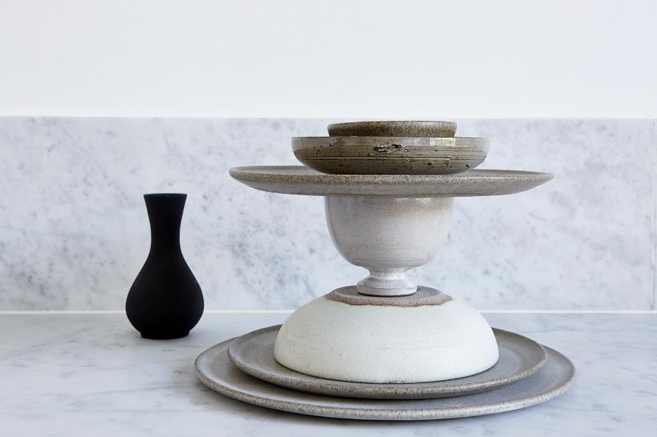 Lorensbergsgatan Södermalm Stockholm Marble vase keramik black grey Fantastic Frank