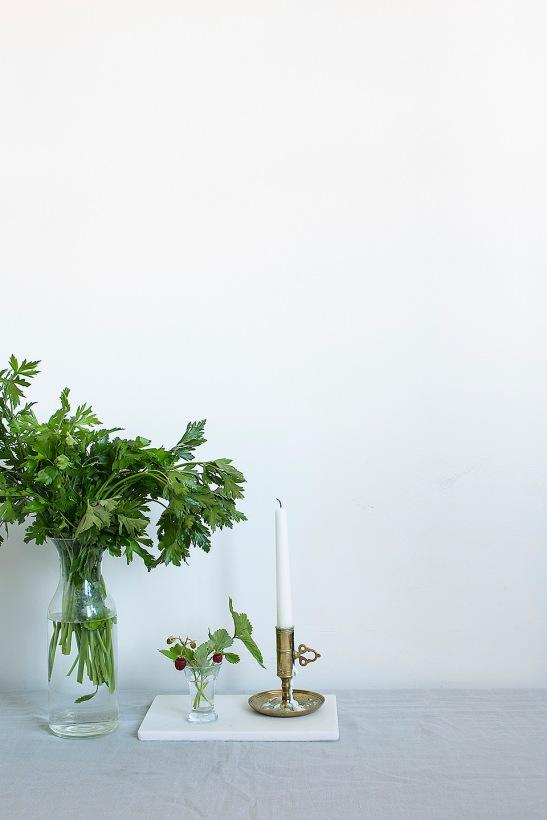 Polhemsgatan Kungsholmen Takåsar vitt smultron persilja Fantastic frank