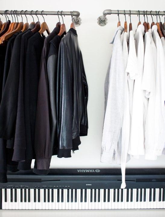 vänskapsvägen stockholm svart vitt yamaha keyboard skinnjacka skortor industriellt fantasticfrank