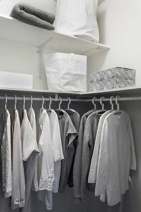 Hammarby Sjöstad details closet grey white Fantastic Frank