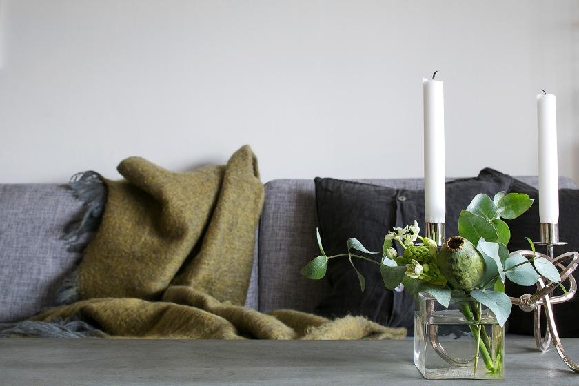 Valhallavägen details ljus växter soffa Fantastic Frank