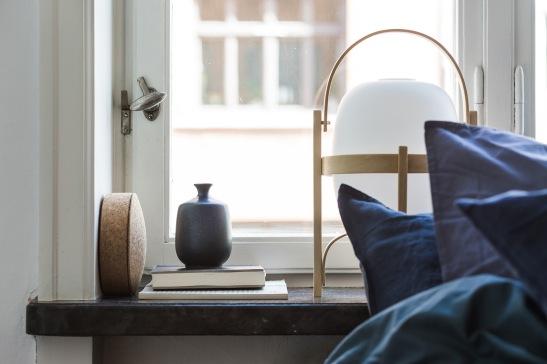 Vasastan Roslagsgatan dahlagenturer cesta table lamp bedroom details dahl agenturer linnen blue Fantastic Frank