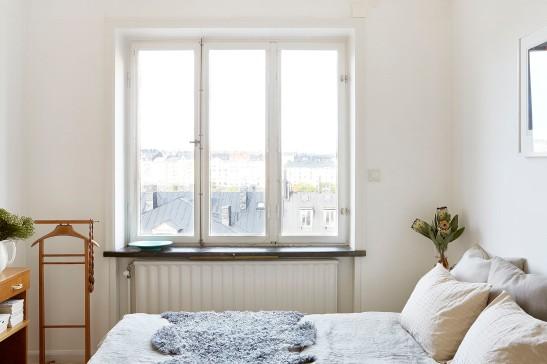 Alströmergatan Kungsholmen herrbetjänt view bedroom fårfällFantastic Frank