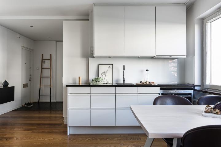 Bondegatan sofo kitchen ladder white black brown fantasticfrank