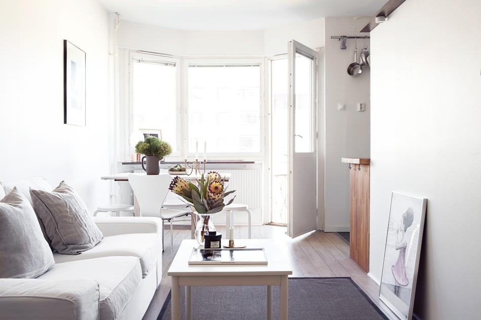 Grevgatan Östermalm compact living livingroom diningroom Fantastic Frank