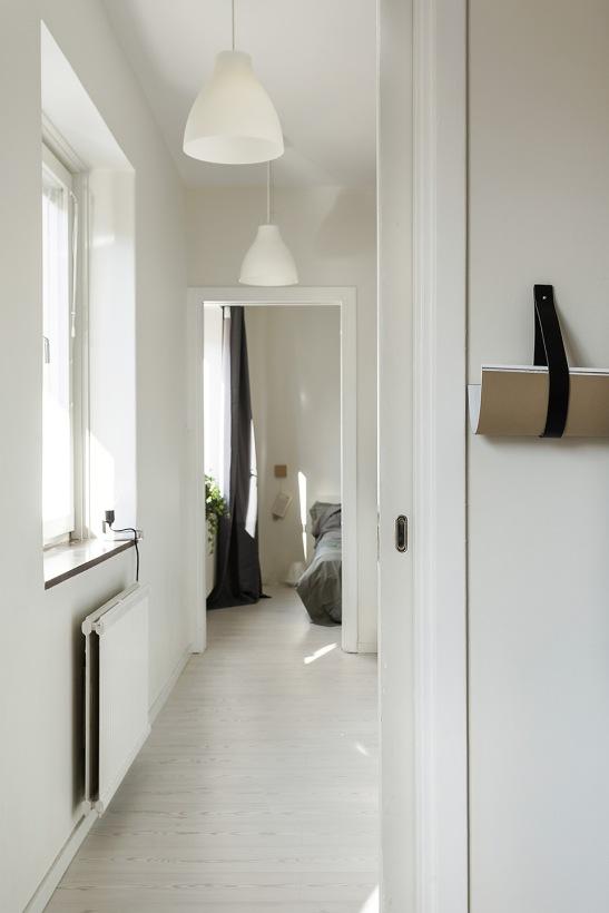 Norrtullsgatan Stockholm corridor kitchen genomgående fantasticfrank