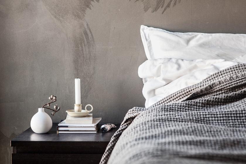 Sickla Kanalgata Hammarby Sjöstad Bedroom concrete Fantastic Frank