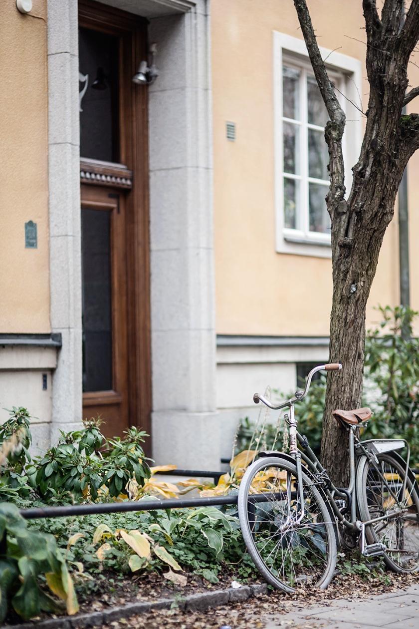 Vintage bike Atlasgatan Fantastic Frank mäklare