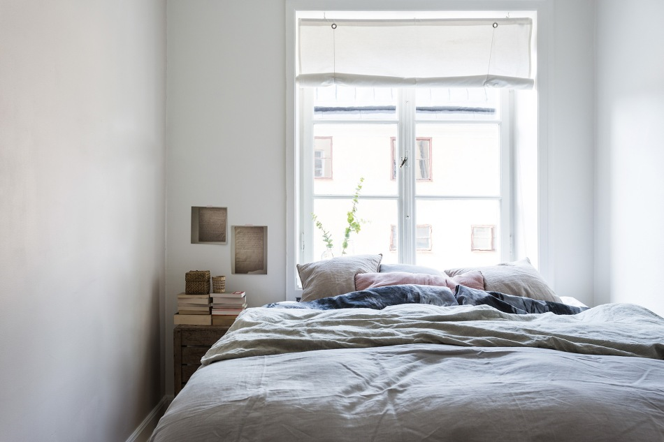 Brännerigatan Södermalm Bedroom linnen window Fantastic Frank