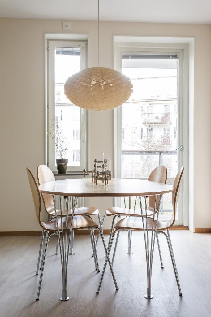 Korphoppsgatan kitchen brown white Fantastic Frank