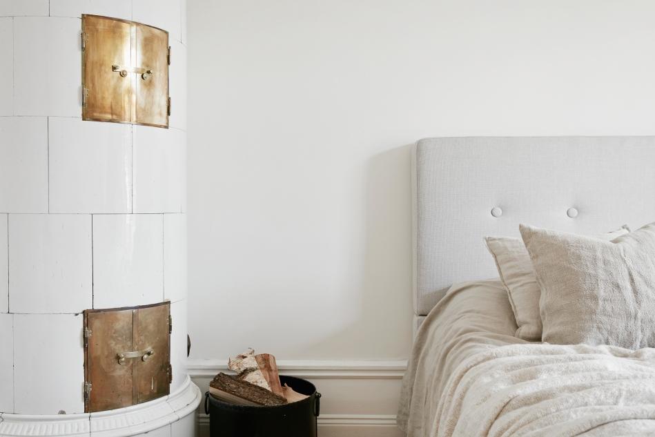 Rådmansgatan Stockholm bedroom kakelugn Fantastic Frank