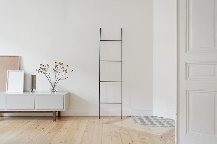 Rådmansgatan Stockholm livingroom sideboard ladder Fantastic Frank