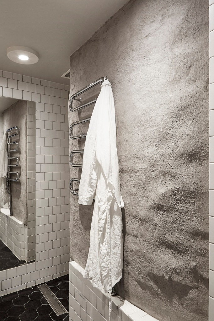 Rosenlundsgatan Stockholm Bathroom grey concrete Fantastic Frank