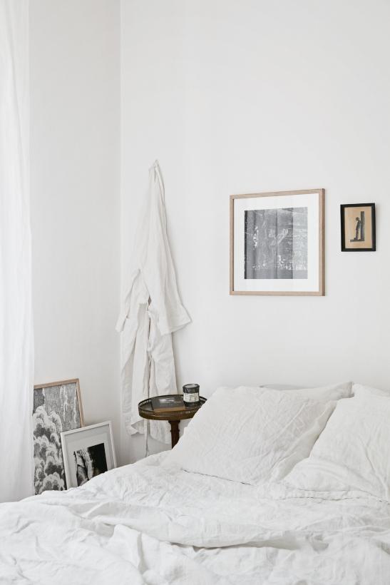 Samaritgränd Stockholm bedroom art morgonrock linnen Fantastic Frank