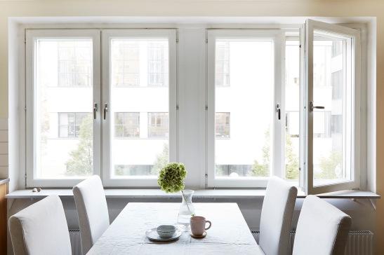Västgötagränd Södermalm Kitchen windows linnen Fantastic Frank