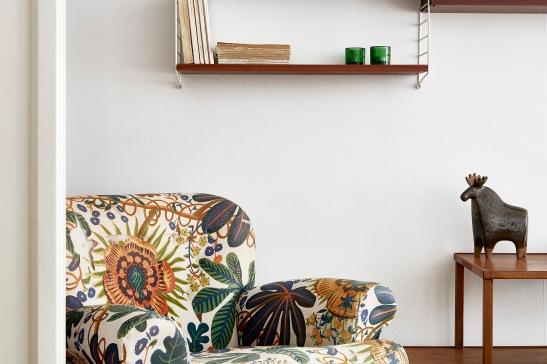 Ynglingagatan livingroom armchair joseph Frank svenskt tenn moose strinning fantastic Frank
